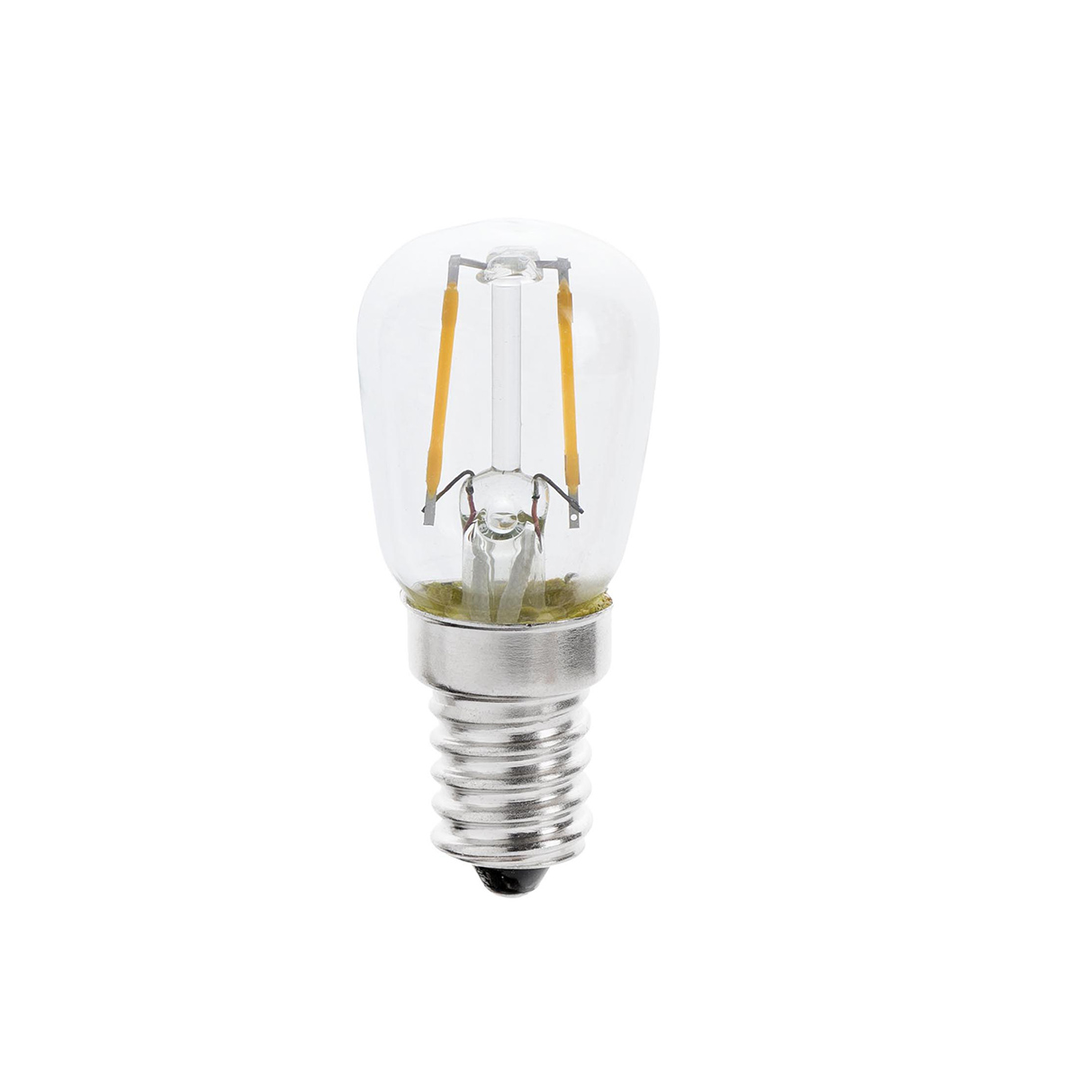 Bec E14 LED decorativ T26 FILAMENT 1W 2700K 17446