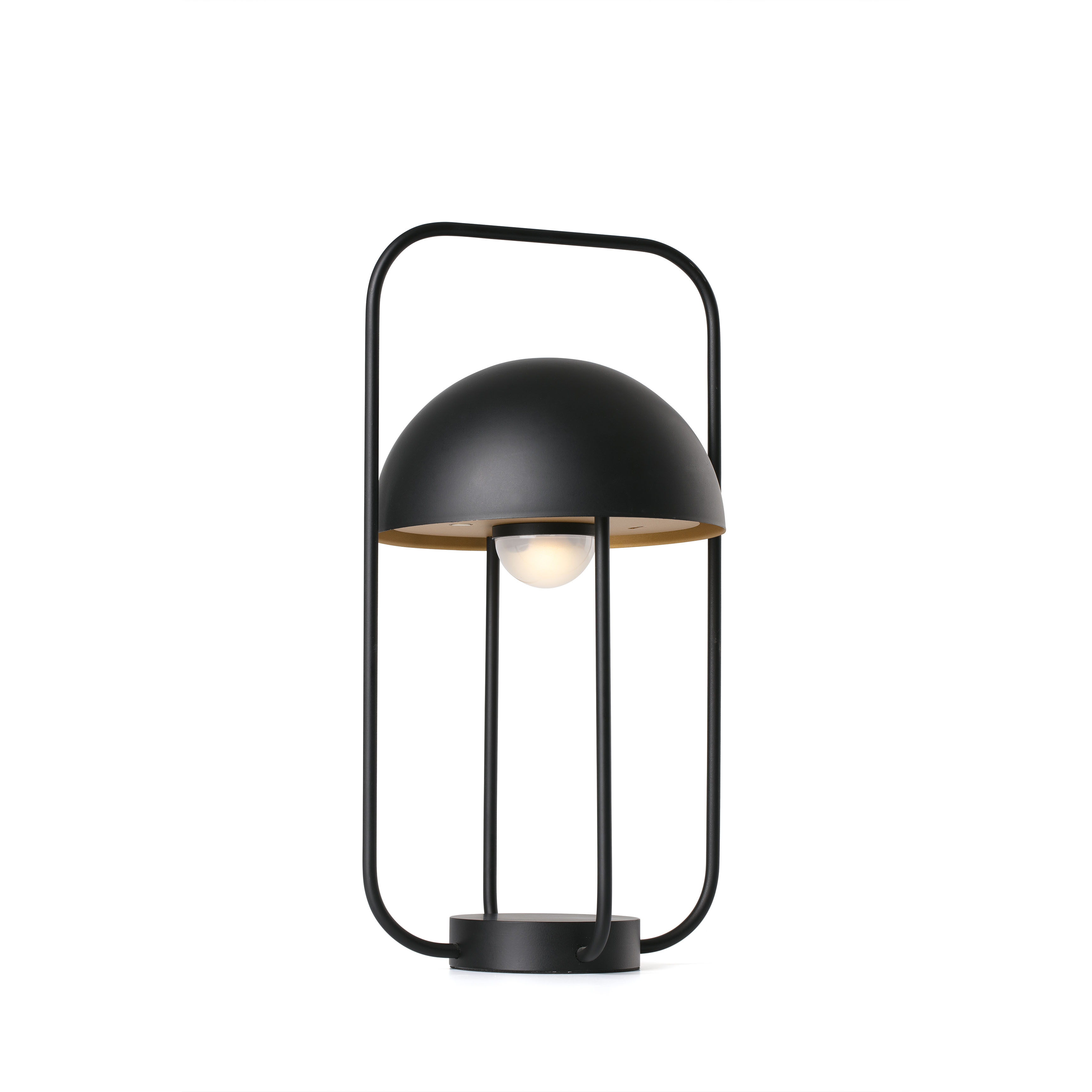 Lampa LED portabila JELLYFISH black / gold 24523