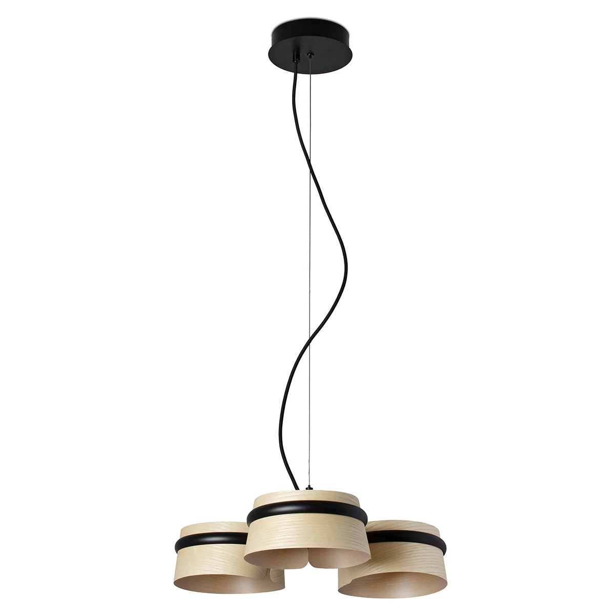 Lustra LED dimabila design deosebit LOOP frasin 29397