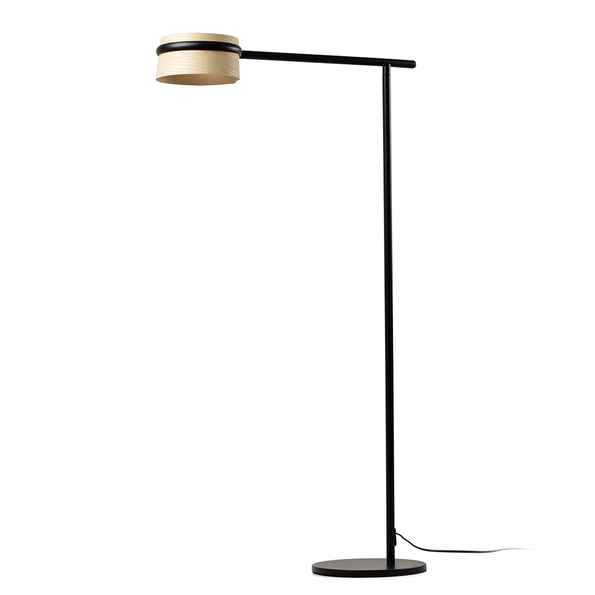 Lampadar LED dimabil design deosebit LOOP frasin 29399