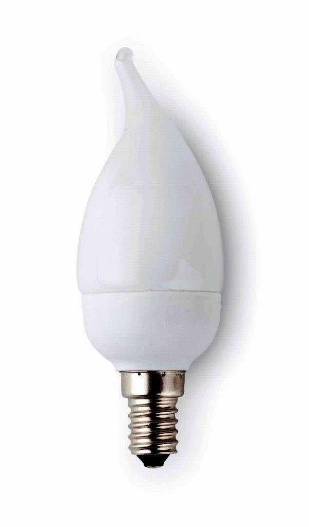Bec energy saving decorativ candle E14 9Watt warm light 16210 Faro Barcelona