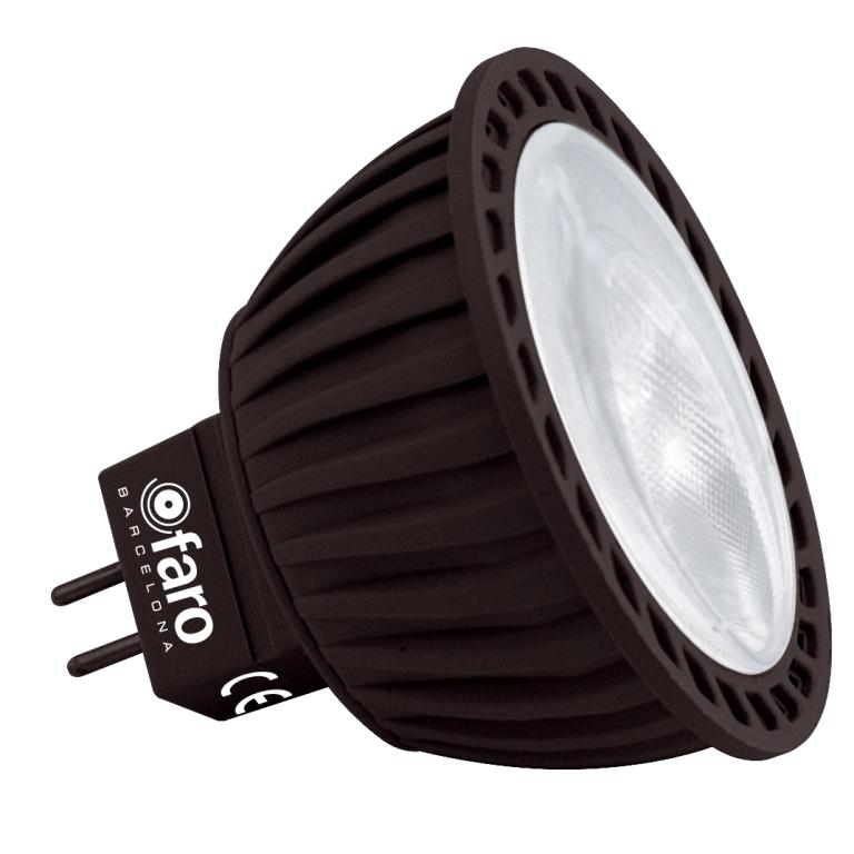 Bec LED 5 Watt 2700K warm light MR16 14142 Faro Barcelona